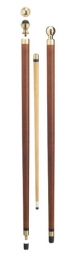 MAHOGANY POOL STICK CANE
